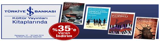 Kültür Yayınları Kitaplarında %35'e Varan İndirim!