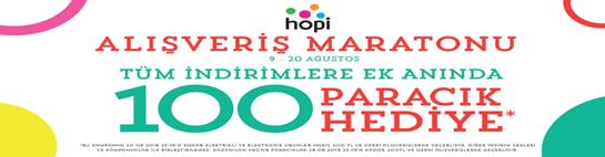 Morhipo'da Tüm İndirimlere Ek Anında 100 Paracık Hediye!