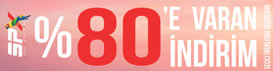 SPX Seçili Ürünlerde %80'e Varan İndirim Kampanyası!