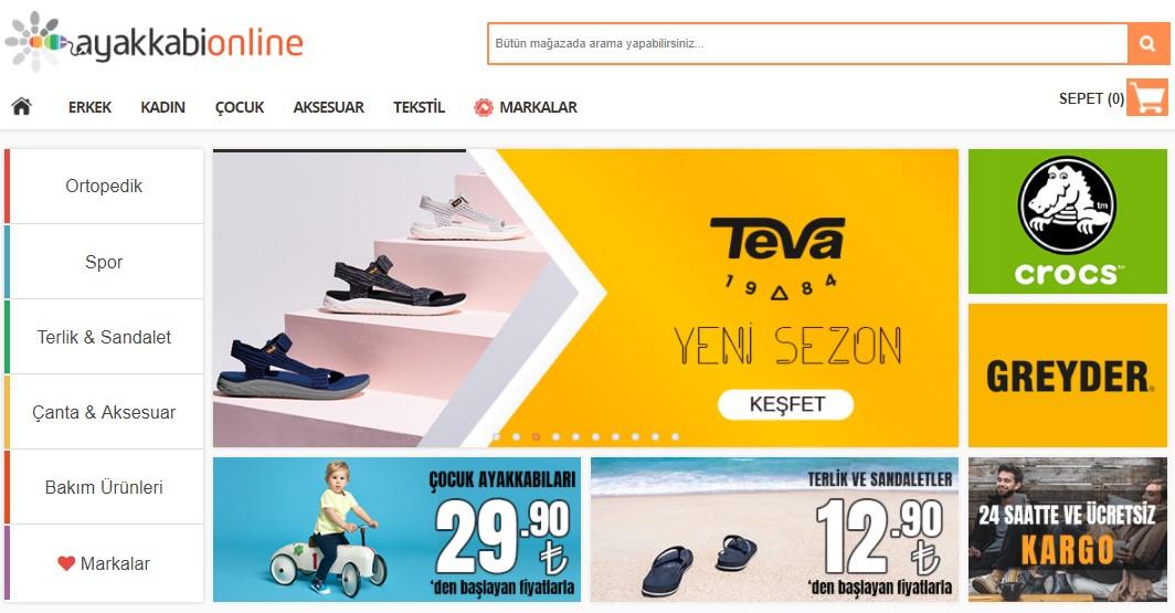 ayakkabı online indirim kuponu