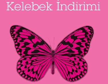 Boyner Kelebek İndirimi Başladı 27 - 30 Eylül