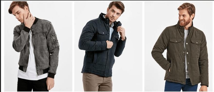 Erkekler İçin Uygun Fiyatlı Kaban ve Mont Alışverişi