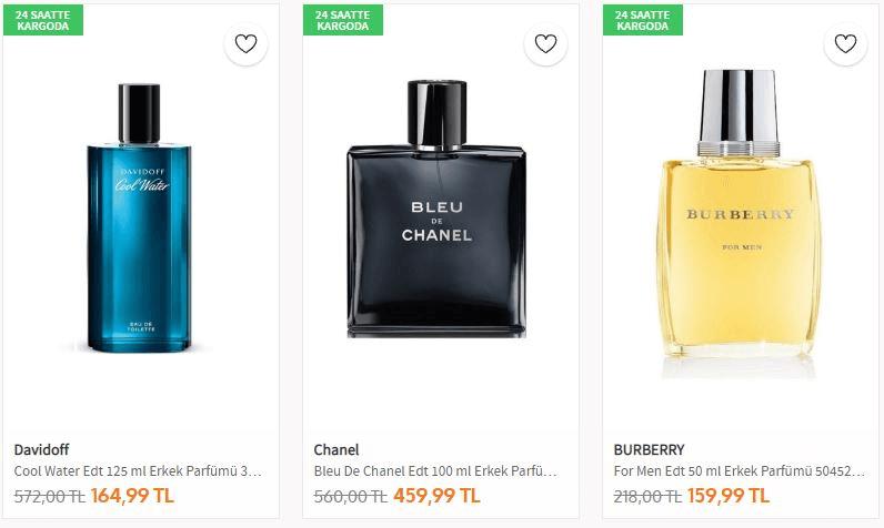 Yılbaşı Hediyesi Parfüm Erkek