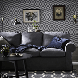 IKEA oturma odası kanepeler