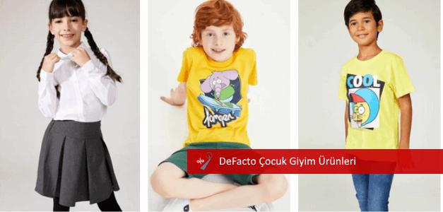 defacto çocuk giyim ürünleri