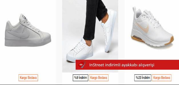 instreet spor ayakkabı indirimleri
