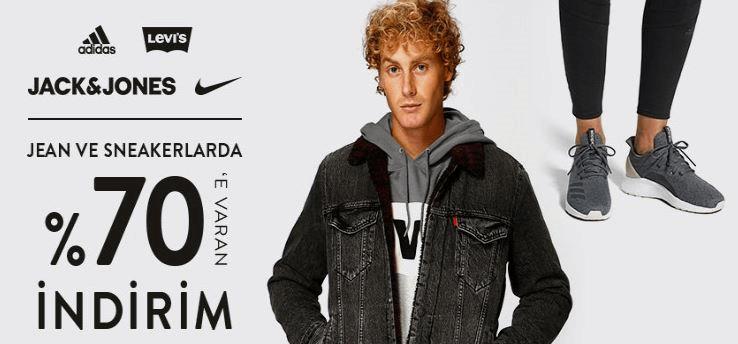 Boyner %70 Jean ve Sneaker İndirimi