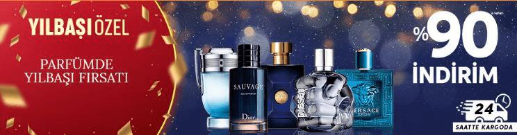 Trendyol'da Yılbaşı Özel Erkek Parfümlerinde %90 İndirim Kampanyası
