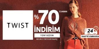 Trendyol'da Twist Markasında Yeni Sezon Ürünlerinde %70 İndirim Kampanyası