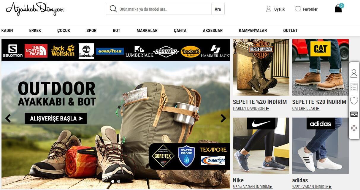 Ayakkabı dünyası kampanya kodu