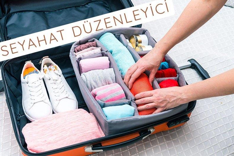 tatil çanta düzenleyici